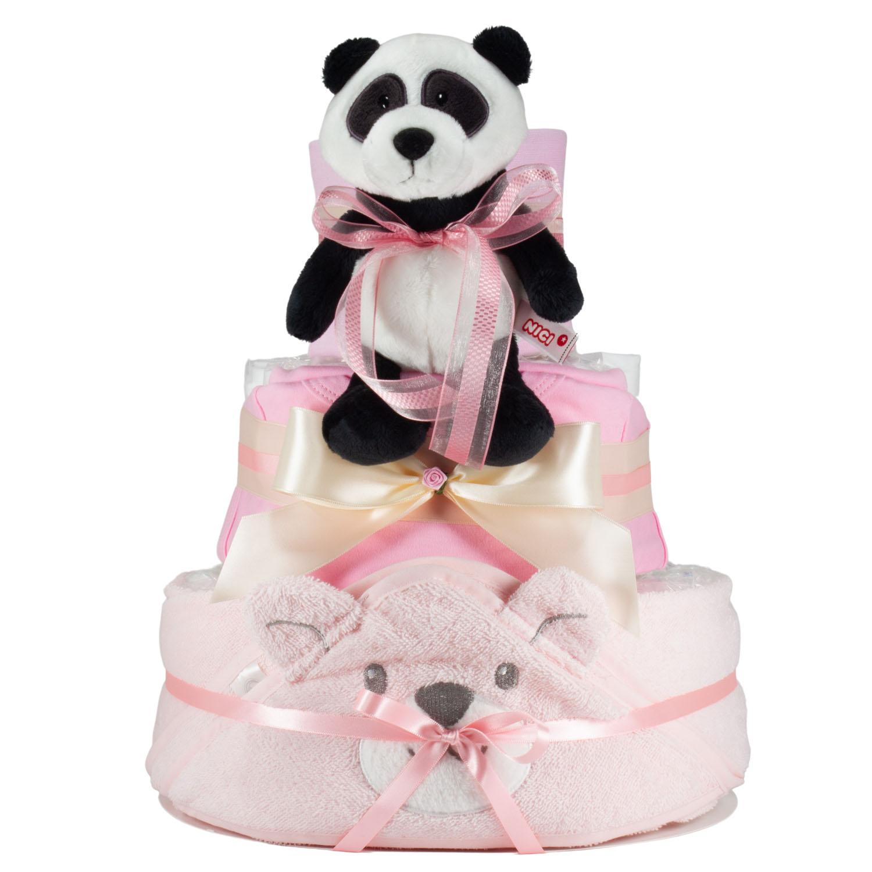 Windeltorte Panda