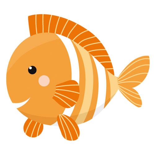 Fisch orange