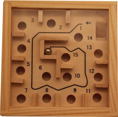 Labyrinth Kugelspiel