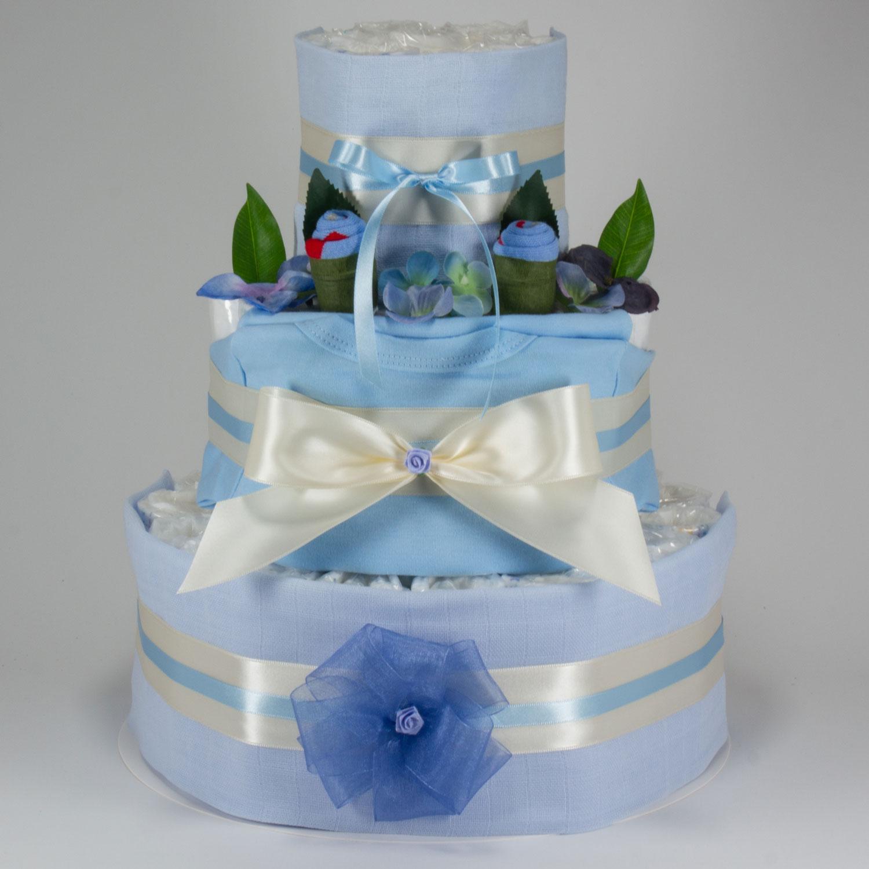 Windeltorte Grösse XL blau