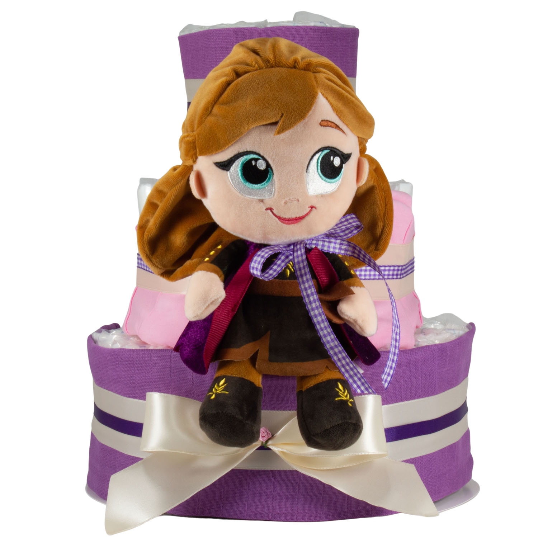 Windeltorte Frozen Anna