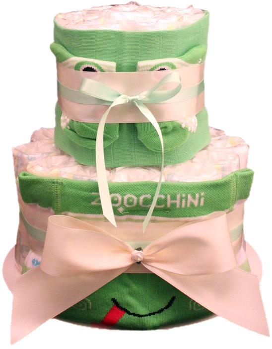 Windeltorte Zoocchini Frosch